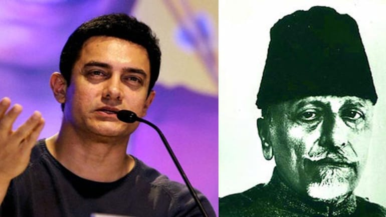 Aamir wants to make film on great grand uncle Maulana Azad - India ...
