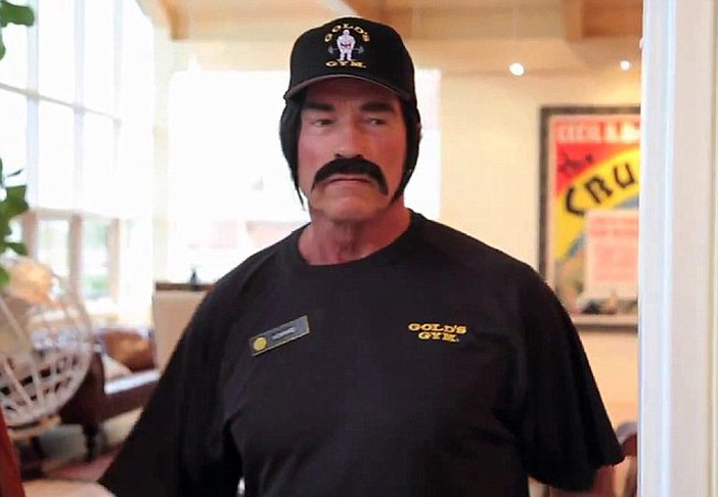 b4f55645a11a3 Arnold Schwarzenegger goes undercover as personal trainer