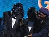 Grammys 2014: Hats, masks and music kickstart the show