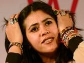 Ekta Kapoor's session interrupted at Jaipur lit fest