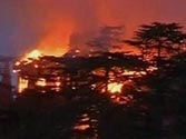 Major fire breaks out in Shimla's British-era building