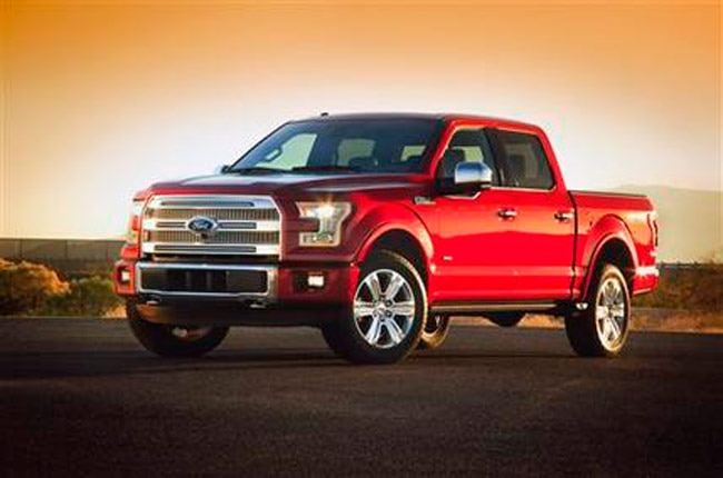ford unveils new f-150 built almost entirely out of aluminum