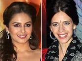 All is well between Kalki Koechlin and Huma Qureshi