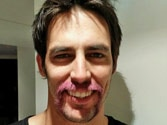 Ashes star Mitchell Johnson goes 'pink' for charity