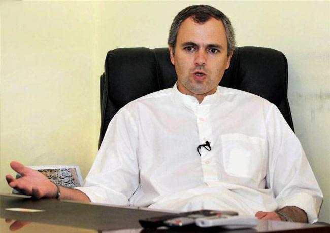 Jammu and Kashmir Chief Minister Omar Abdullah