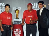 The Cup that Cheers: The FIFA trophy gets a rousing reception in India. When will we bring it home for real?