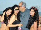 Sridevi is not shy of showing off her fit bod in New Year vacation pic