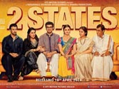 2 States poster: Arjun and Alia bring North and South together