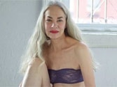 American Apparel launches 62-year-old model in new lingerie advert