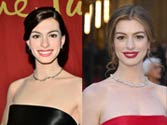 Can you tell: The real Anne Hathaway and the Madame Tussauds statue