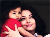Aishwarya takes Aaradhya to play school