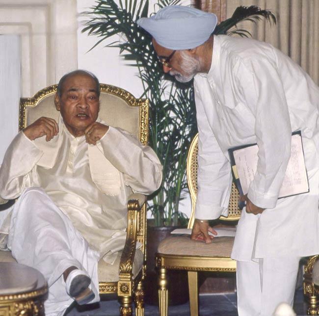 Narasimha Rao and Manmohan Singh