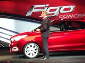 Ford Figo Concept compact sedan unveiled
