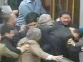 PDP MLA Syed Bashir Ahmad slaps marshal inside Jammu and Kashmir Assembly