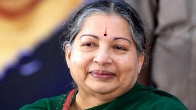 Tamil Nadu CM Jayalalithaa