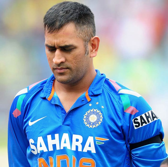 ms dhoni the indian captain is no longer cool sports news