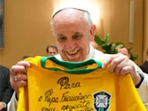FIFA WC: Pope 'supporting' Brazil over his native Argentina