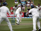 Wellington Test: New Zealand struggling at 51/4 against India