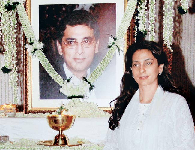 Juhi Chawla's emotional tribute to her brother Bobby Chawla
