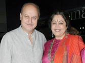 Anupam Kher cancels shootings for Kirron's campaign