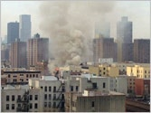Two New York buildings collapse in explosion, 2 dead, others missing