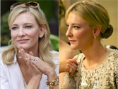 Oscar nominated actress Cate Blanchett is nervous?