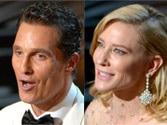 Oscars 2014: Cate Blanchett, McConaughey, 12 Years A Slave win big