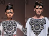 WIFW: Malini Ramani tries hand at Indian designs