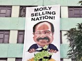 Dinesh C Sharma says Moily sold out Indian farming