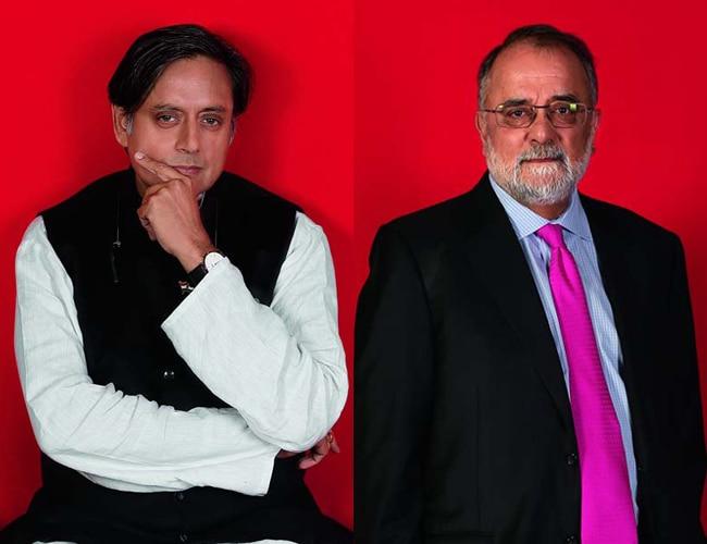 Shashi Tharoor, Ahmed Rashid