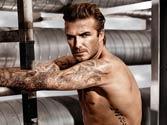 David Beckham named world's best underwear model