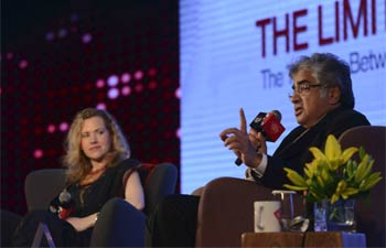 Jesselyn Radack with Harish Salve