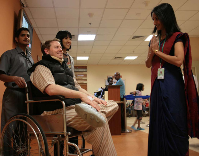 India's popularity as a medical tourism destination is on the rise