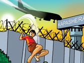 Exclusive: Airport or park? 16-year-old boy goes for morning jog on active IGI runway!