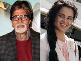 Amitabh Bachchan praises Kangana Ranaut