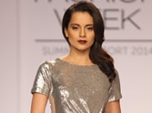 Kangana Ranaut turns showstopper at LFW