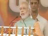 Modi blames Nitish govt for terrorism in Bihar