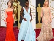 Oscars 2014 red carpet: Who wore what!