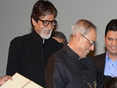 President watches Bhoothnath Returns with Amitabh Bachchan