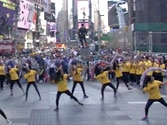 IIFA gets a grand 'flash mob' opening at Times Square