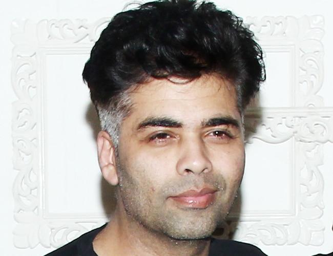 Celeb Style Karan Johar Sports New Edgy Hair Cut Movies News
