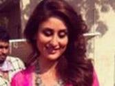 Kareena's look in Gabbar revealed, toned midriff catches the eye