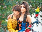 Spotted: Ranveer and Parineeti don desi avatar on Kill Dil sets
