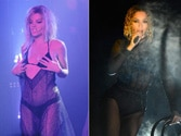 Lily Allen dresses up, mimics Beyonce