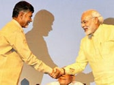 TDP and BJP join hands for Andhra Pradesh polls