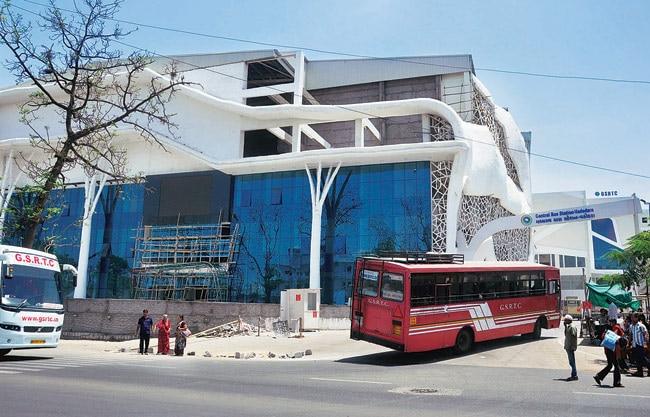 Vadodra bus terminal