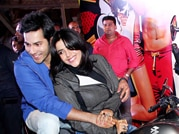Varun takes Ekta for her first bike ride