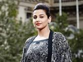 Vidya Balan flaunts six-yard wonder created by Aussie designer