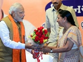 Modi era ends in Gujarat, Anandiben Patel is new chief minister