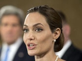 Jolie calls for return of abducted Nigerian girls at red carpet